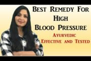 Natural Remedy To Reduce High Blood Pressure / Hypertension (Ayurvedic, Effective and Tested)