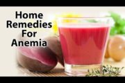 Home Remedy For Anemia | Treat Iron Deficiency Naturally