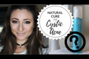 BEST NATURAL REMEDY FOR CYSTIC ACNE | Ashley Morganic