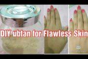 DIY  Bridal ubtan for fair Flawless Skin l Natural remedy for Skin Brightening