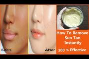 How To Remove Sun Tan Instantly | 100% effective & Natural Remedy – LIVE Result in this video