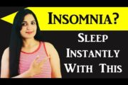 Natural remedy that makes you Fall Asleep instantly / #Insomnia Home Remedy/ Samyuktha Diaries