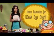 Weak Eye Sight – Ayurvedic Home Remedies To Improve Eyesight – Natural Remedy for Vision