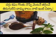 Cough home remedies|quick 5 minutes homemade cough syrup|natural remedy for baby cough|#cough#daggu