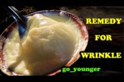 NATURAL REMEDY FOR WRINKLES ON FACE | ANTI AGING HOME REMEDIES TO GET RID OF WRINKLES AROUND MOUTH