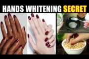 Get 100% Younger, Soft & Wrinkle Free Fairer Hands Natural Remedy Urdu Hindi
