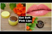 How To Lighten Dark Lips | Natural Remedy To Get Baby Soft & Pink Lips at Home | Pink Lip Treatment